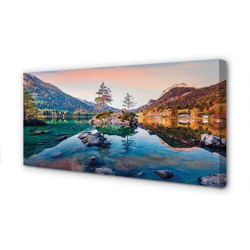 Tulup.pl Obrazy na płótnie niemcy góry alpy jesień jezioro