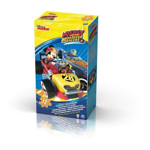 puzzle piankowe myszka miki 12 elementów marki Spin master
