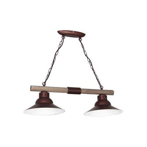 Luminex 9151 - lampa wisząca jose 2xe27/60w/230v