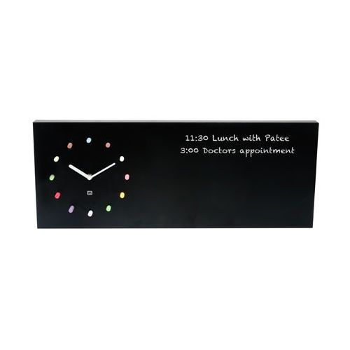 Wall clock -& chalk board
