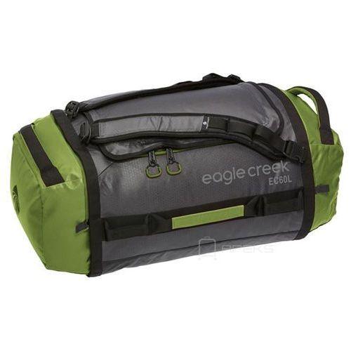 Eagle creek cargo hauler duffel 60l torba podróżna składana 67 cm / plecak / green / asphalt - green / asphalt
