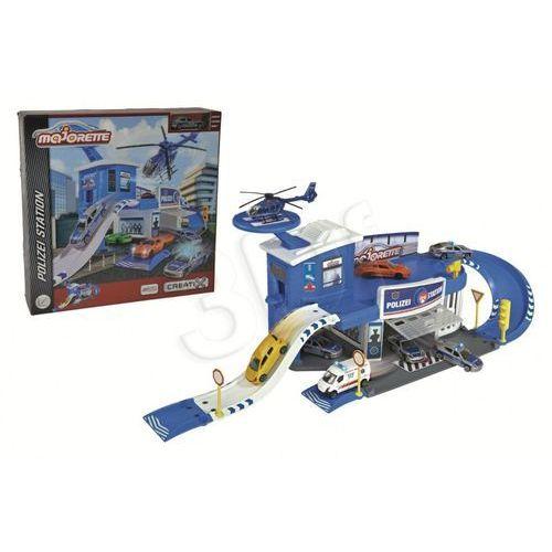 Majorette garaż komenda policyjna + 1 auto creatix (3467452034972)