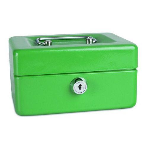Kasetka na pieniądze , mała, 152x80x115mm, zielona marki Donau