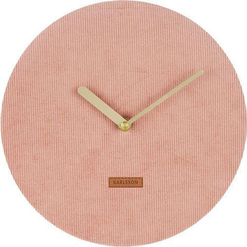 Karlsson corduroy wall clock