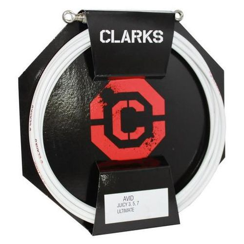 Pancerz do hamulca hydraulicznego avid przód + tył biały marki Clarks