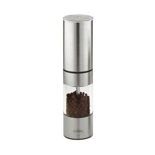 młynek do pieprzu z solniczką, 17,5 cm, duży (4007371040938)