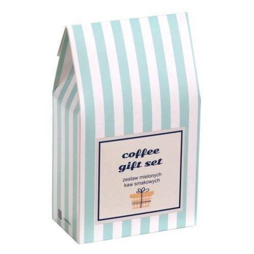 Coffee gift set. zestaw kaw – uniwersalny i gustowny prezent upominek podarunek z kawą smakową w saszetkach 10x10g marki Cup&you cup and you