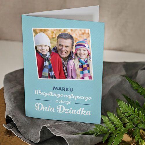 Mygiftdna Wszystkiego najlepszego dziadku - kartka z życzeniami - kartka z życzeniami
