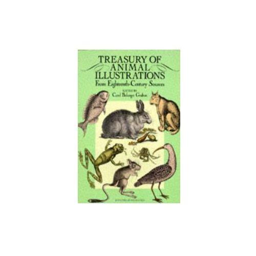 Treasury of Animal Illustrations from Eighteenth Century Sources (9780486258058)