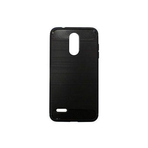 LG K9 - etui na telefon Forcell Carbon - czarny, kolor czarny