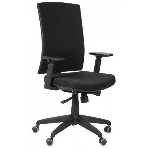 Krzesło biurowe obrotowe kb-8922b/czarny, fotel biurowy marki Stema - kb