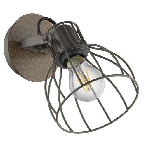 Lampa ścienna sambatello z kloszem klatkowym 1-pkt marki Eglo