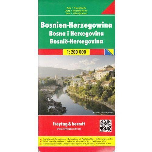 Bośnia i Hercegowina mapa 1:200 000 Freytag & Berndt (2 str.)