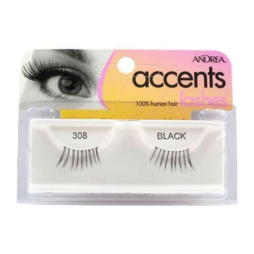 ANDREA Accent lashes 308 Black