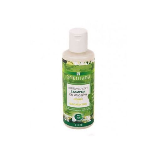 Ajurwedyjski szampon jaśmin i migdałecznik marki Orientana