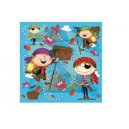 Pol-mak serwetki 33 x 33 cm, 20 sztuk, piraci (sdog 012501) darmowy odbiór w 21 miastach!
