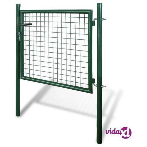 Vidaxl bramka furtka ogrodowa 85,5 x 75 cm / 100 x 125 cm