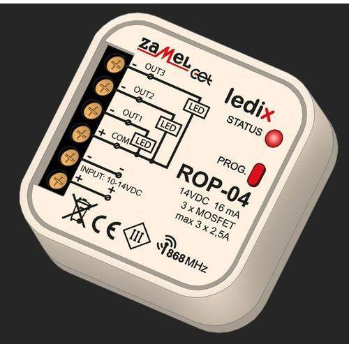 Radiowy odbiornik 3-kanałowy exta free rop-04 do puszki fi60 ldx10000003 marki Zamel