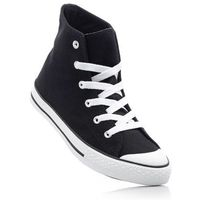 Bonprix Wysokie sneakersy czarny