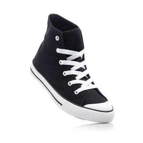 Wysokie sneakersy czarny marki Bonprix