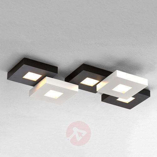 Bopp CUBUS lampa sufitowa LED Czarny, Biały, 5-punktowe (4011895418753)