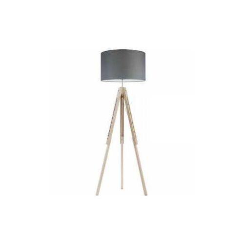 TK Lighting Trewir Wood 5042 Lampa podłogowa stojąca 1x60W E27 grafit/sosna