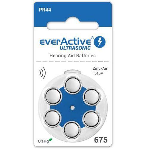 Everactive 6 x baterie do aparatów słuchowych ultrasonic 675 (5902020523185)