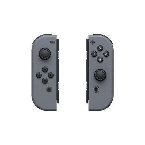 kontrolery joy-con prawy i lewy szare dla konsoli nintendo switch marki Nintendo