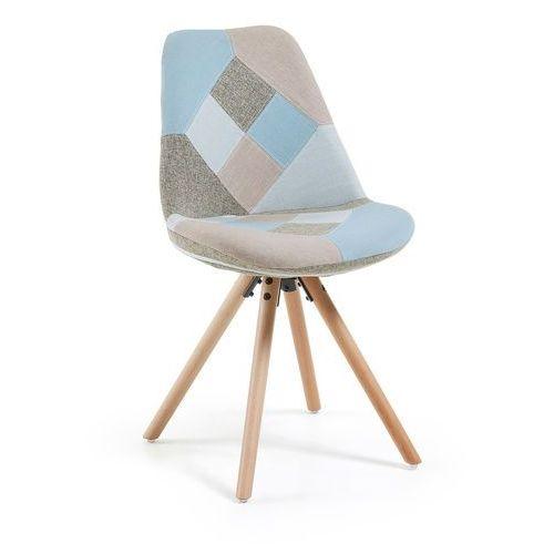 LaForma:: Krzesło Lars Kamienne (nogi drewniane) - kamienny