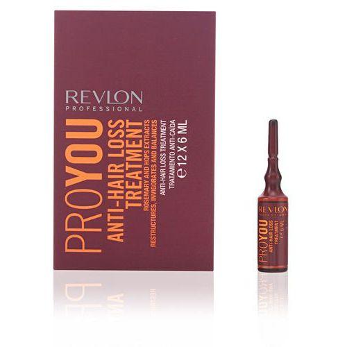 Revlon  pro you anti-hair loss, kuracja przeciw wypadaniu, ampułki 12x6ml