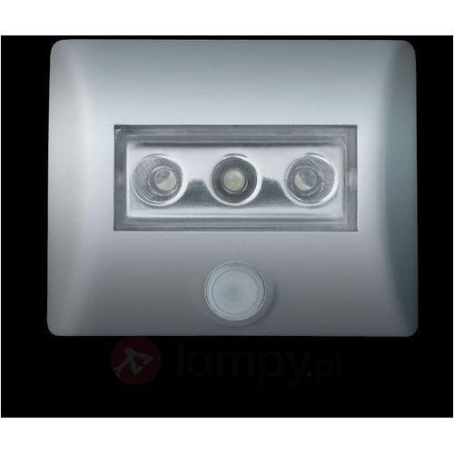 Osram Lampka nocna z czujnikiem ruchu 4008321985743, led wbudowany na stałe, (dxsxw) 8.6 x 6.9 x 2.8 cm, srebrny (4008321985743)
