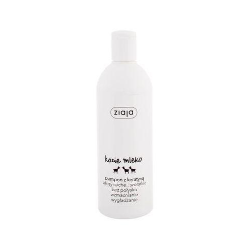 szampon wzmacniający kozie mleko z keratyną 400 ml marki Ziaja