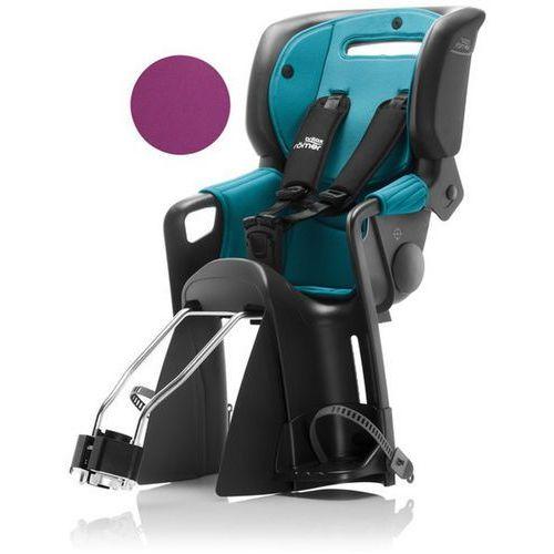 Britax römer fotelik rowerowy jockey² comfort black - turquoise/ purple (4000984189797)