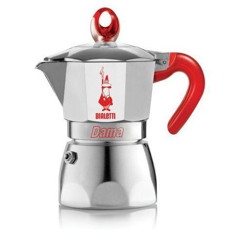 Kawiarka  dama vanity 3 tz czerwony wyprodukowany przez Bialetti