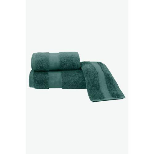 Soft cotton Zestaw podarunkowy małych ręczników deluxe, 3 szt zielony (8698642058019)