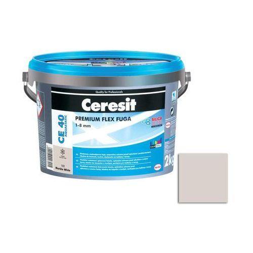Fuga cementowa wodoodporna ce40 biały 2 kg marki Ceresit