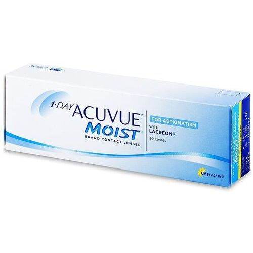 Johnson & johnson 1 day acuvue moist for astigmatism 30 szt