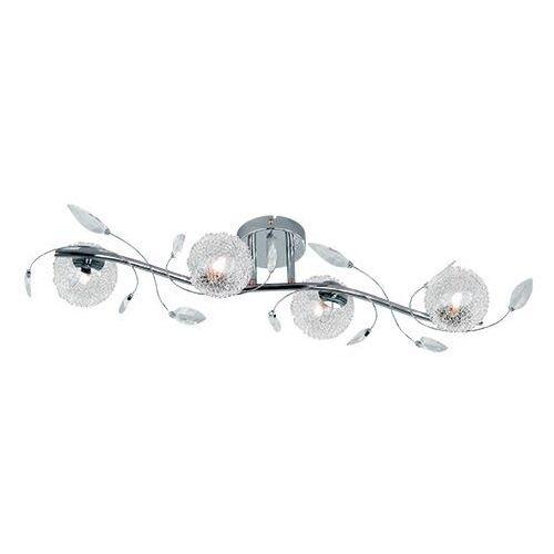 Trio rl wire r61354106 plafon lampa sufitowa 4x28w g9 chrom / transparentny (4017807227581)