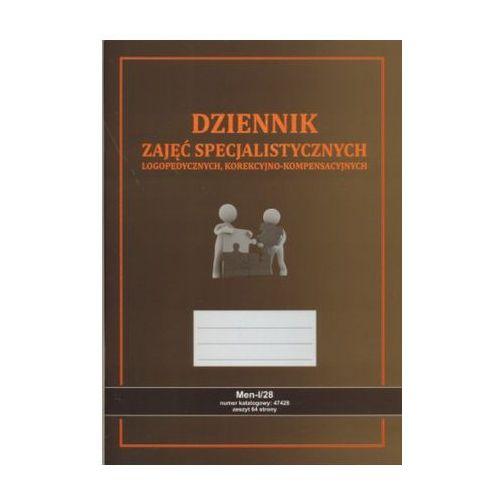 Dziennik zajęć specjalistycznych - logopedycznych [Men-I/28], 47428