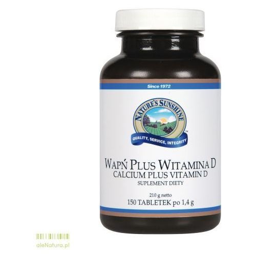 Tabletki NSP wapń plus witamina d 150 tabletek