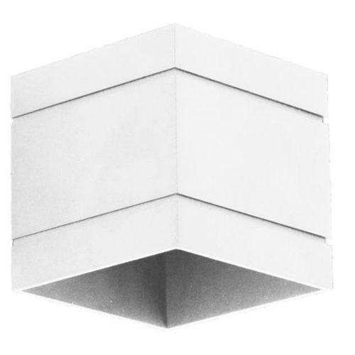 Kinkiet quado deluxe a biały - biały marki Lampex