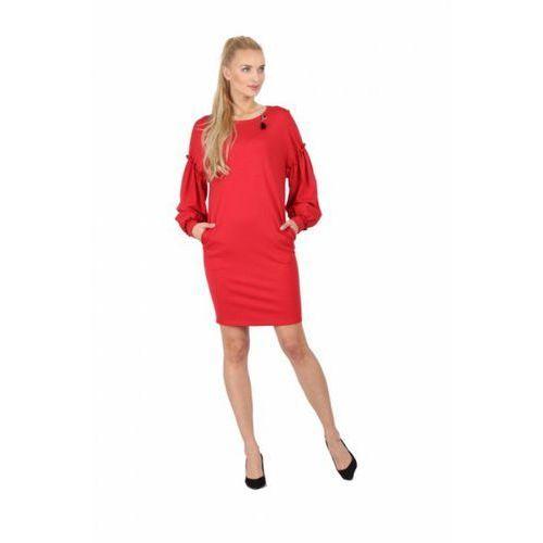 Sukienka model m 1019 red, Margo collection