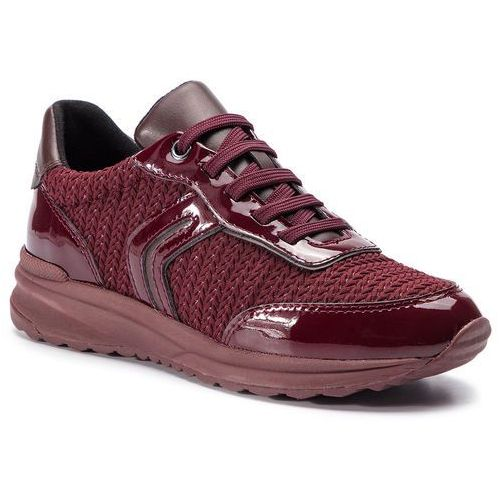 Sneakersy - d airell a d842sa 0as66 c7j7b dk burgundy/bordeaux marki Geox