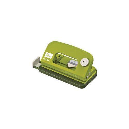 Mini dziurkacz metalowy Carl-02 Zielony (5906858027150)