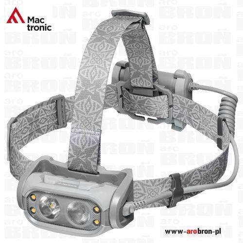 Latarka czołowa LED Mactronic PHANTOM 500lm (AHL0016) - Światło skupione i rozproszone, płynna regulacja jasności