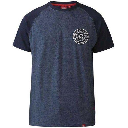 Duke T-shirt granatowy d555 spencer 3xl-6xl