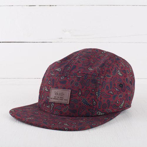 Nowa czapka m davis 5 panel camper hat one size marki Vans