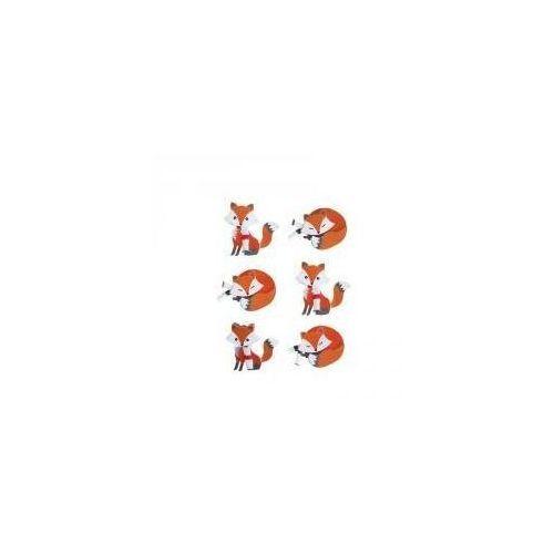 Naklejki 3D Lisy (5902921981480)
