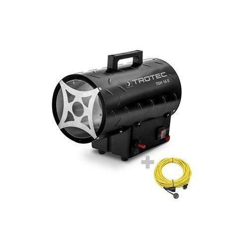 Nagrzewnica gazowa tgh 16 e z przedłużaczem 20 m / 230 v / 2,5 mm² marki Trotec