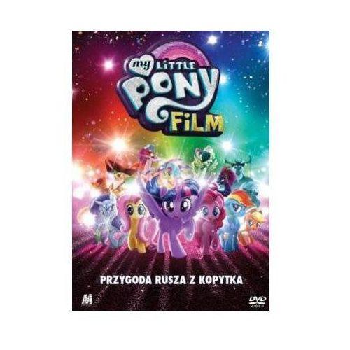 My little pony. film (dvd) + książka marki Monolith